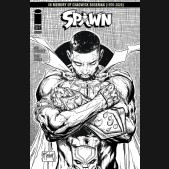 SPAWN #311 COVER D TODD MCFARLANE BLACK AND WHITE
