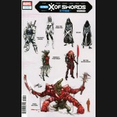 X OF SWORDS STASIS #1 LARRAZ 1 IN 10 DESIGN INCENTIVE