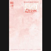 BATMAN WHITE KNIGHT PRESENTS HARLEY QUINN #1 BLANK VARIANT