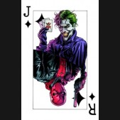 BATMAN THREE JOKERS #3 SOUVENIR PLAYING CARD