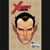 X-MEN RED #5 CHAREST HEADSHOT 1 IN 10 INCENTIVE VARIANT