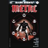 DARK NIGHTS METAL #1 BW MIDNIGHT RELEASE 1 IN 100 VARIANT