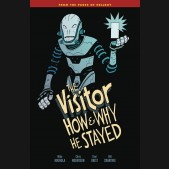 VISITOR HOW AND WHY HE STAYED GRAPHIC NOVEL