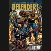 DEFENDERS #1 (2017 SERIES) ADAMS 1 IN 25 INCENTIVE VARIANT COVER