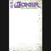 JOKER 80TH ANNIVERSARY 100 PAGE SUPER SPECTACULAR #1 BLANK VARIANT