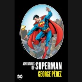 ADVENTURES OF SUPERMAN BY GEORGE PEREZ HARDCOVER