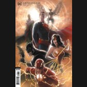 JUSTICE LEAGUE #43 (2018 SERIES) CARD STOCK KAARE ANDREWS VARIANT