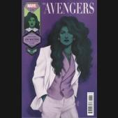 AVENGERS #43 (2018 SERIES) BARTEL SHE-HULK WOMENS HISTORY MONTH VARIANT