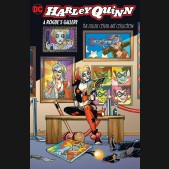 HARLEY QUINN A ROGUES GALLERY THE DELUXE COVER ART COLLECTION HARDCOVER