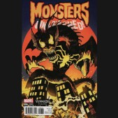 MONSTERS UNLEASHED #6 (2017 SERIES) VENOMIZED FIN FANG FOOM VARIANT