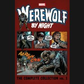 WEREWOLF BY NIGHT COMPLETE COLLECTION VOLUME 1 GRAPHIC NOVEL