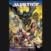 JUSTICE LEAGUE REBIRTH DELUXE COLLECTION BOOK 3 HARDCOVER