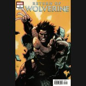 RETURN OF WOLVERINE #1  YU 1 IN 25 INCENTIVE VARIANT