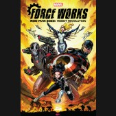 IRON MAN 2020 ROBOT REVOLUTION FORCE WORKS GRAPHIC NOVEL