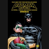 BATMAN AND ROBIN BY TOMASI AND GLEASON OMNIBUS HARDCOVER