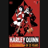 HARLEY QUINN A CELEBRATION OF 25 YEARS HARDCOVER