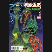 MONSTERS UNLEASHED #5 (2017 SERIES)