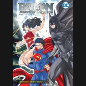 BATMAN AND THE JUSTICE LEAGUE MANGA VOLUME 1 GRAPHIC NOVEL