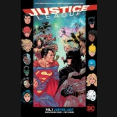 JUSTICE LEAGUE VOLUME 7 JUSTICE LOST GRAPHIC NOVEL