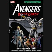 AVENGERS WEST COAST EPIC COLLECTION LOST IN SPACE-TIME GRAPHIC NOVEL