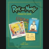 RICK AND MORTY CHARACTER GUIDE HARDCOVER