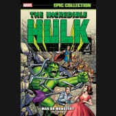 INCREDIBLE HULK EPIC COLLECTION MAN OR MONSTER GRAPHIC NOVEL