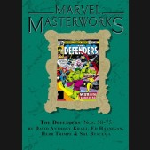 MARVEL MASTERWORKS DEFENDERS VOLUME 7 DM VARIANT #295 EDITION HARDCOVER