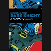 BATMAN LEGENDS OF THE DARK KNIGHT JIM APARO VOLUME 3 HARDCOVER