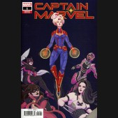 CAPTAIN MARVEL #1 (2019 SERIES) TSAI 1 IN 10 INCENTIVE VARIANT