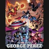 MARVEL ART OF GEORGE PEREZ HARDCOVER