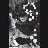 BATMAN BLACK AND WHITE #1 (2020 SERIES) JH WILLIAMS III VARIANT