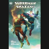 SUPERMAN SHAZAM FIRST THUNDER DELUXE EDITION HARDCOVER