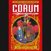 MOORCOCK CORUM VOLUME 3 LIBRARY EDITION THE KING OF THE SWORDS HARDCOVER