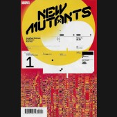 NEW MUTANTS #1 (2019 SERIES) MULLER DESIGN 1 IN 10 INCENTIVE VARIANT