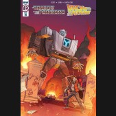 TRANSFORMERS BACK TO THE FUTURE #2 SCHOENING 1 IN 10 INCENTIVE VARIANT