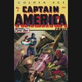 GOLDEN AGE CAPTAIN AMERICA OMNIBUS VOLUME 1 HARDCOVER