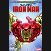 TONY STARK IRON MAN BY DAN SLOTT OMNIBUS DM VARIANT HARDCOVER