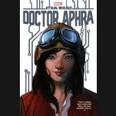 STAR WARS DOCTOR APHRA OMNIBUS VOLUME 1 DM VARIANT HARDCOVER NOTE: Mis-Wrapped Dustcover