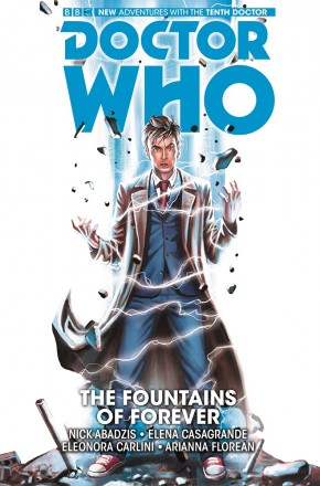 DOCTOR WHO 10TH DOCTOR VOLUME 3 FOUNTAINS OF FOREVER GRAPHIC NOVEL