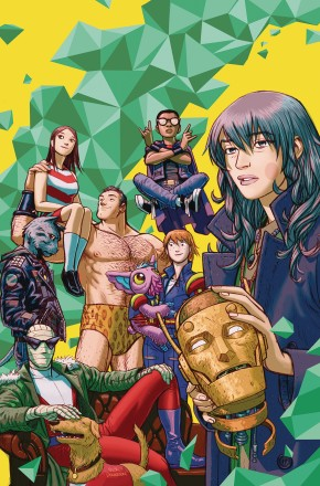 DOOM PATROL WEIGHT OF THE WORLDS GRAPHIC NOVEL