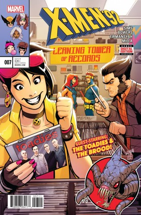 X-MEN 92 VOLUME 2 #7