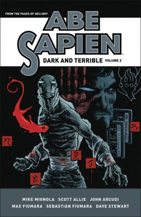 ABE SAPIEN DARK AND TERRIBLE VOLUME 2 HARDCOVER