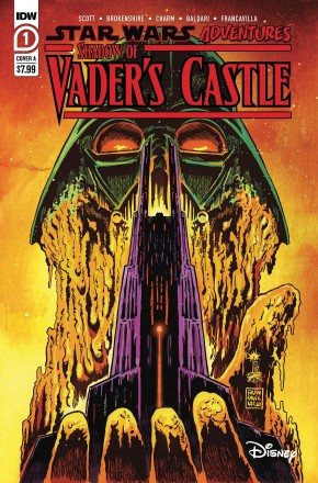 STAR WARS ADVENTURES SHADOW OF VADERS CASTLE COVER A