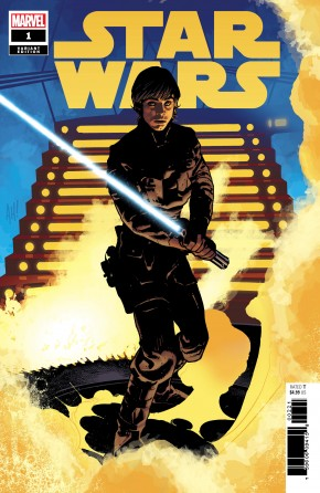 STAR WARS #1 (2020 SERIES) HUGHES LUKE 1 IN 50 INCENTIVE VARIANT