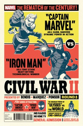 CIVIL WAR II #8 CHO VARIANT COVER