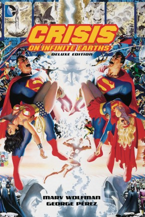 CRISIS ON INFINITE EARTHS 35TH ANNIVERSARY DELUXE EDITION HARDCOVER