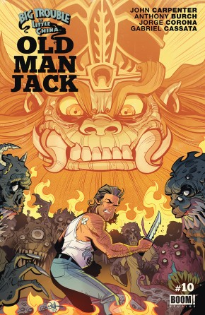 BIG TROUBLE IN LITTLE CHINA OLD MAN JACK #10
