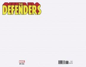 DEFENDERS #1 (2017 SERIES) BLANK VARIANT COVER