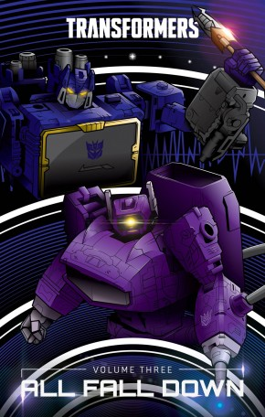 TRANSFORMERS VOLUME 3 ALL FALL DOWN HARDCOVER