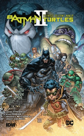 BATMAN TEENAGE MUTANT NINJA TURTLES II GRAPHIC NOVEL